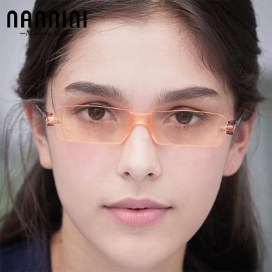 【支持购物卡】意大利NANNINI纳尼尼眼镜 防蓝光 防辐射 电脑老花镜 多度数可选   CP1-1151