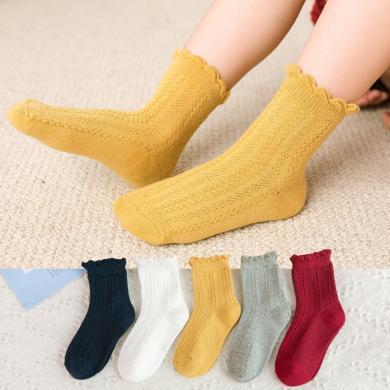 ocsco 兒童襪子冬季新款加厚男童襪子中筒襪兒童地板襪嬰兒襪女童襪子