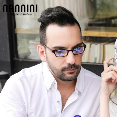 【支持购物卡】意大利NANNINI纳尼尼眼镜 进口品牌高档男女眼镜时尚轻薄便携复古老花镜经典高清舒  SHAKE-1151