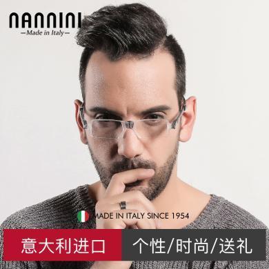 【支持购物卡】意大利NANNINI纳尼尼眼镜 进口高清舒适 百变折叠老花镜 防疲劳TR90 老人老光眼 多度数可选  NANNI