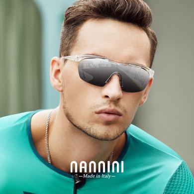 【支持購物卡】意大利NANNINI納尼尼眼鏡 眼鏡女時尚大框墨鏡潮男新款太陽鏡防紫外線SUPERLEGGEROMASK
