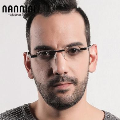 【支持购物卡】意大利NANNINI纳尼尼眼镜 单手折叠佩戴 电脑老花镜 多度数可选  FM