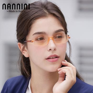 【支持购物卡】意大利NANNINI纳尼尼眼镜 防?#35910;?防辐射 电脑老花镜 多度数可选   CP2-1151