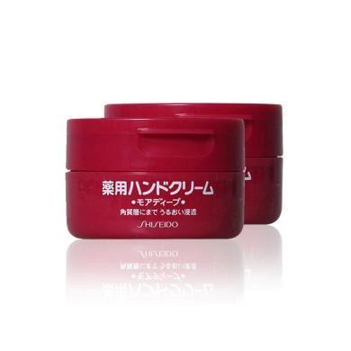 【支持購物卡】【2罐裝】SHISEIDO 資生堂旗下HANDCREAM 美潤 藥用美肌護手霜