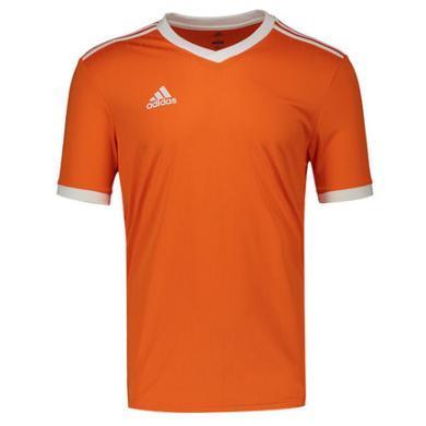 adidas阿迪達斯2019冬季男子足球運動比賽短袖T恤 CE8942/CE8943
