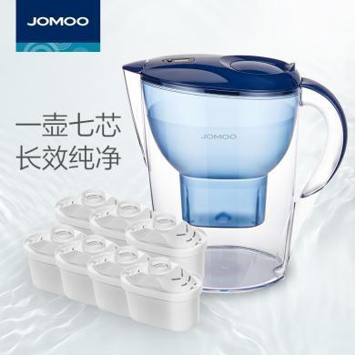 九牧濾水壺家用凈水器廚房自來水非直飲過濾器便攜凈水杯凈水壺JPC11-1