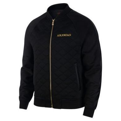 耐克Air Jordan2019秋季男子運動休閑立領薄棉夾克外套 BQ5772-010