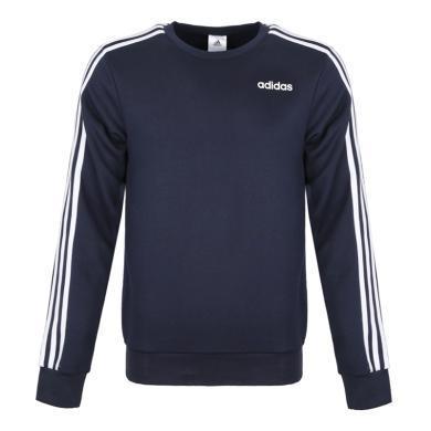 adidas阿迪達斯2019男子E 3S CREW FT針織套衫DU0484