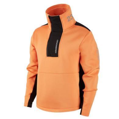 耐克AIR JORDAN冬季男子太空棉立領衛衣套頭衫BQ5738-854