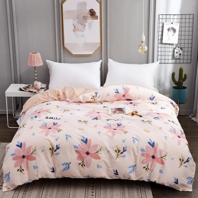 DREAM HOME AB版纯棉被罩学生单品被套纯棉被套1.5米1.8米床单被?#22918;?#22871;小清新729791-2