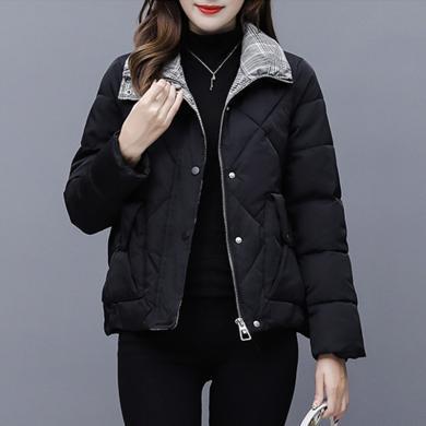 meyou 冬季新款韓版時尚棉衣棉服女短款加厚小棉襖外套