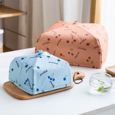 摩登主婦冬季保溫菜罩防塵可折疊蓋飯菜罩家用剩菜食物餐桌罩家用