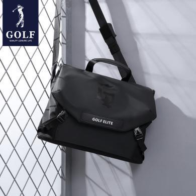 高爾夫/GOLF男包新款男士時尚單肩包帆布包尼龍牛津布休閑斜挎包  D943904