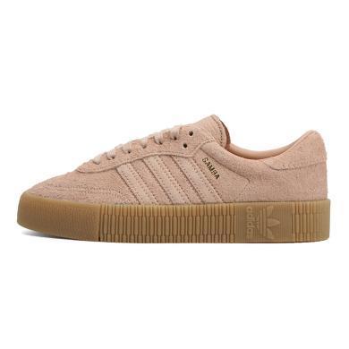 adidas Originals阿迪三葉草女子SAMBAROSE WLIFESTYLE GENERALIST休閑鞋B37861