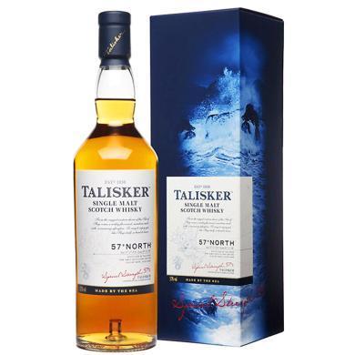 泰斯卡(Talisker)洋酒 北纬57°岛屿产区 苏格兰进口洋酒 单一麦?#23458;?#22763;忌700ml