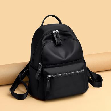 搭歌雙肩包女韓版ins風防水背包新款日系多功能女高中學生書包D211102