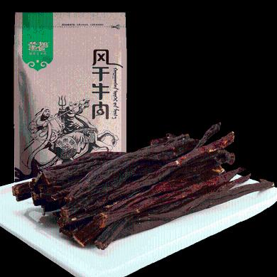 蒙都牛肉干內蒙古散裝風干清真手撕原味赤峰特產五香牛肉干小零食