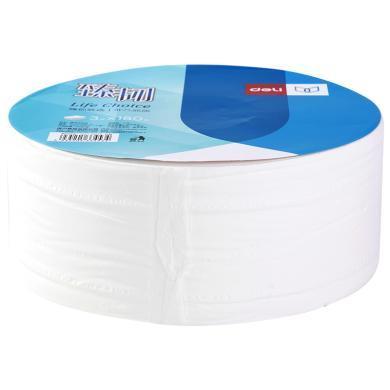 得力WP3180-01盤式衛生紙(白)