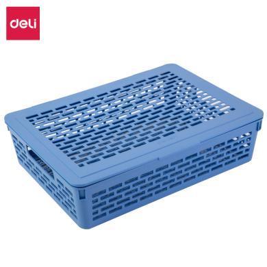 得力924公文籃(淺藍)(只)