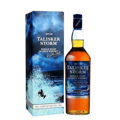 泰斯卡风暴洋酒 Talisker 岛屿产区 苏格兰单一麦芽威士忌 700ml 单瓶装