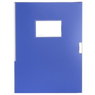 得力5681檔案盒(藍)(只)