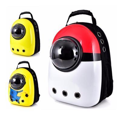 搭歌寵物包包便捷透明側開門手提貓咪箱包車載批發寵物太空艙背包D450955