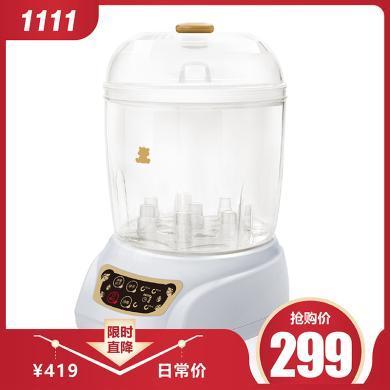 小白熊奶瓶消毒鍋蒸汽帶烘干消毒器HL-0681