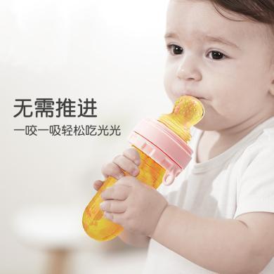 【食品級硅膠 放心啃咬】MDB嬰幼兒寶寶果蔬樂硅膠磨牙棒水果輔食器