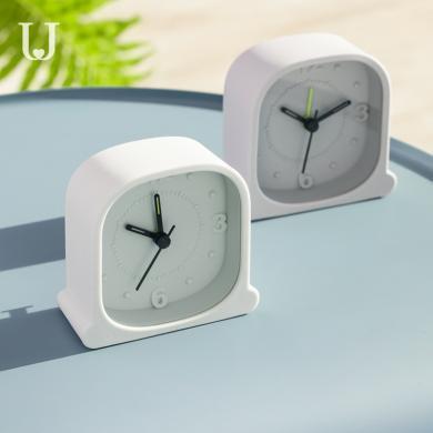 简约硅胶时钟 静音闹钟时尚硅胶座钟创意简约卧室床头多功能电子时钟