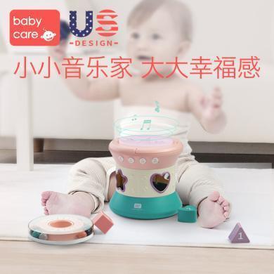 babycare宝宝手拍鼓婴儿玩具6-12个月益智拍拍鼓0-1岁儿童音乐鼓 7320音乐拍拍鼓