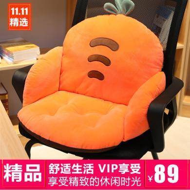 VIPLIFE新款水晶绒水果半包围坐垫