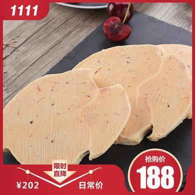 法式鹅肝A级 新鲜冷冻肥鹅肝500克切片分装宝宝辅食即食生鹅肝