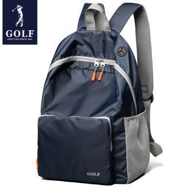 GOLF/高爾夫雙肩包女男背包多色防水輕便攜帶旅行包戶外包折疊包 D5GF82732T