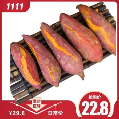 赣南红蜜薯 三百山 沙地红蜜薯 红薯 地瓜 番薯 蜜薯 5斤 新?#36866;?#33756;