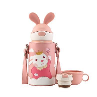 杯具熊兒童保溫水壺