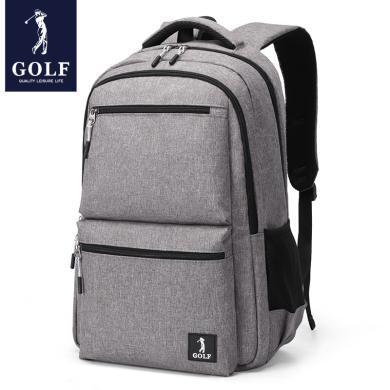 GOLF高爾夫男士雙肩包休閑時尚電腦包15.6寸百搭書包多功能背包 D933913