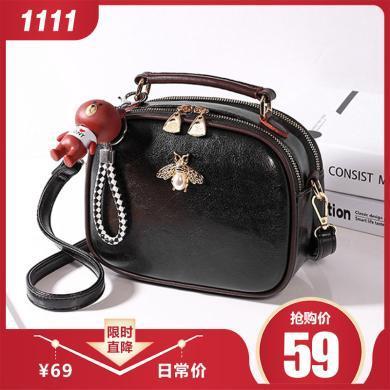 GSQ古思奇 新款潮韓版時尚手提單肩斜挎包包女包N1168