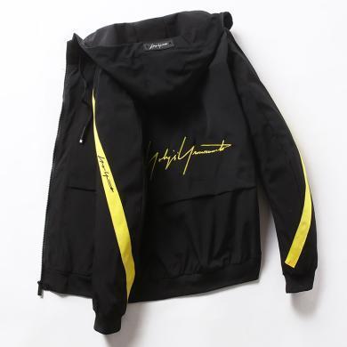 俞兆林男裝夾克外套新款外套男韓版潮流飛行員夾克棒球服休閑帥氣ins雙面穿茄克夾克上衣外套外套夾克男士外套男裝上衣夾克外套夾克 BH839