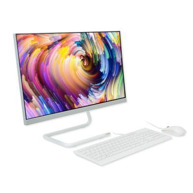 联想(Lenovo) 致美AIO 520C-24 一体台式机电脑九代六核 家用办公设计 I5-9400T 8G 1T+256G M530-2G独显 23.8英寸 WIN10 白色/定制