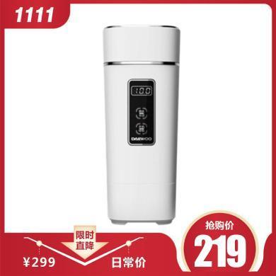 大宇电水壶便携式热水壶家用旅行烧水壶宿迷你保温自动断电热水壶D2