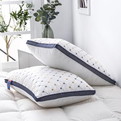 VIPLIFE親膚3D立體羽絲絨枕頭 護頸椎枕芯