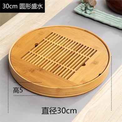AlfunBel艾芳貝兒-圓形盛水30厘米-竹本色C-80-YM-3-2-2