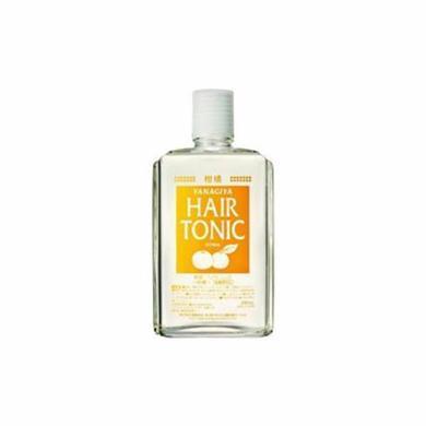 【支持购物卡】YANAGIYA/柳屋 发根营养液 温和柑橘味橘色 240ML