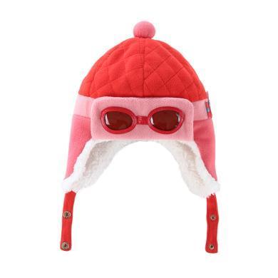 儿童可爱飞行员款冬季保暖帽hugmii/哈格美