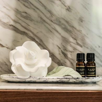 香度 散香瓷香氛精油送禮禮物 芳園系列陶瓷香薰擺件