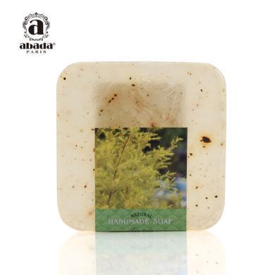 【买三送一】法国abada雅比特茶树洁颜爽肤 祛痘收缩毛孔洁面精油手工皂105g