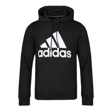 adidas阿迪达斯2019男子运动卫衣连帽休闲针织套衫DQ1461