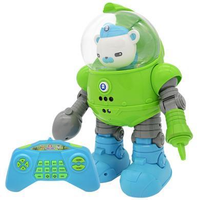 貝芬樂海底小縱隊早教智能機器人玩具跳舞講故事寶寶遙控機器人兒童玩具55604
