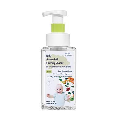 babycare氨基酸奶瓶清潔劑嬰兒餐具清洗液果蔬玩具洗潔精450ml 2210