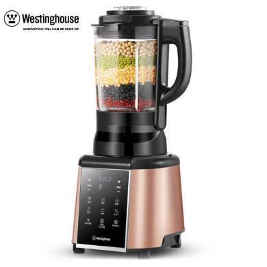 美国西屋百年品牌Westinghouse/0454家用全自动破壁机搅拌机辅食破壁料理机加热榨汁机